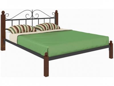 Кровать Диана Lux чёрная