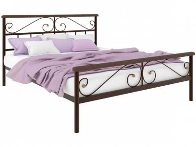 Кровать Эсмеральда Plus коричневая