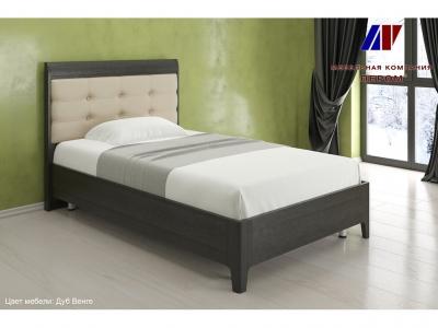 Кровать с ортопедическим основанием КР-2071 1200х2000 Дуб Венге