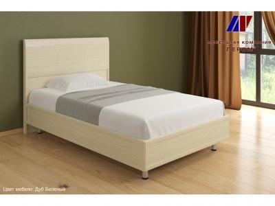 Кровать КР-2701 1200х2000 Дуб Беленый