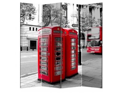 Ширма 1608-4 Телефонная будка 4 панели