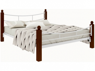 Кровать София Lux plus белая