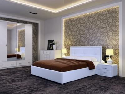 Кровать Адель Экокожа Ideal 301