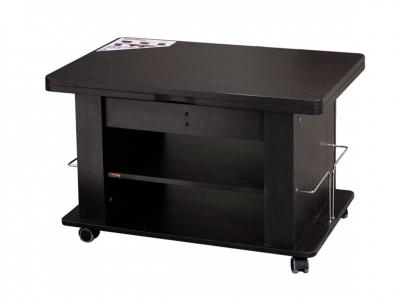 Стол журнальный Агат-19.2 Венге 900(1200)х600(900)х550(770)