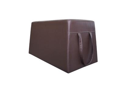 Банкетка Пирамида-2 Alfa Dark коричневый