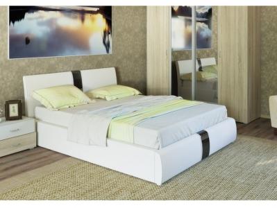 Интерьерная кровать Челси с подъемным механизмом белая