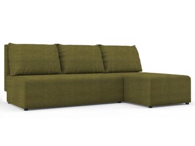 Угловой диван Алиса Shaggy green кат. 2