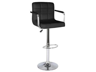 Барный стул Крюгер АМ WX-2318C экокожа чёрный