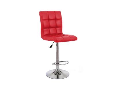 Барный стул Крюгер WX-2516 экокожа красный
