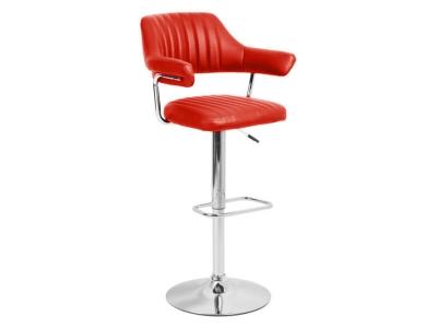 Барный стул Касл WX-2916 экокожа красный