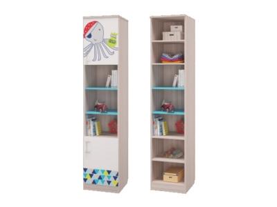 Шкаф для книг с 2-мя дверками Джимми 451х446х2136мм