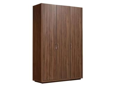 Шкаф 3-х дверный без зеркал для платья и белья ЧШ2/3 Челси Орех Каннеро