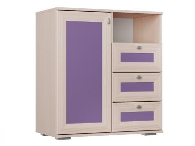 Комод для детской Бриз Фиолетовый