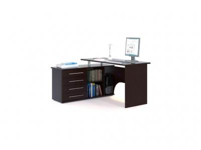 Компьютерный стол Сокол КСТ-109 левый Венге