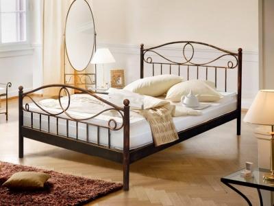 Кованая кровать Соната