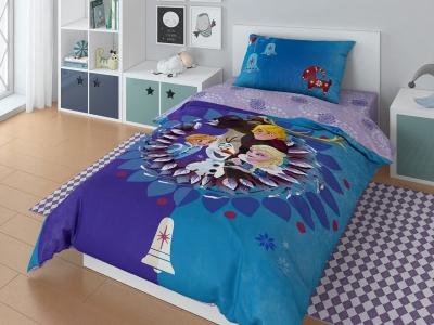 Комплект постельного белья DISNEY 1,5СП Olaf family