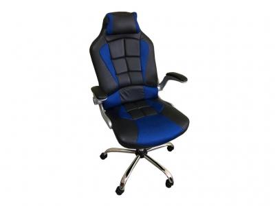Компьютерное кресло 108 RC черный-синий