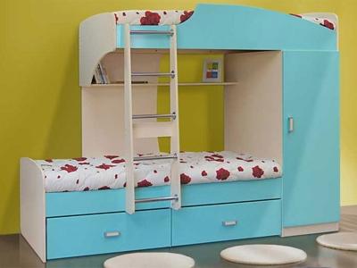 Кровать двухъярусная №1