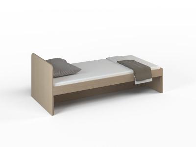 Кровать без ящиков Малина Ясень Шимо