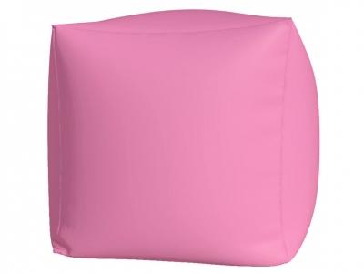 Пуфик Куб макси нейлон розовый