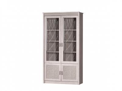 Шкаф для книг Лючия 184 дуб оксфорд серый 1142х2162х458