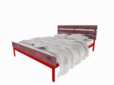 Кровать Луиза Plus красная