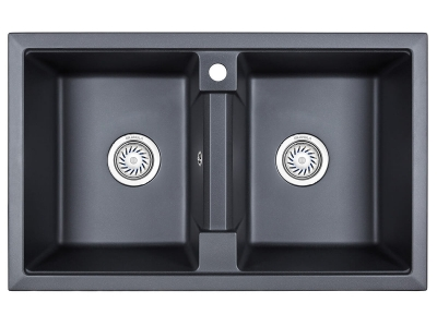 Кухонная мойка Granula 8101 Шварц