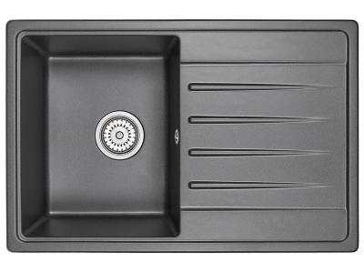 Кухонная мойка Standart 7602 Черный