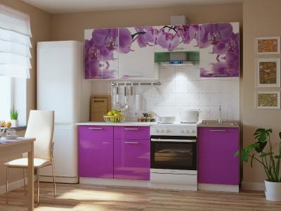 Кухонный гарнитур Риал 2К-100-сиреневый 2100