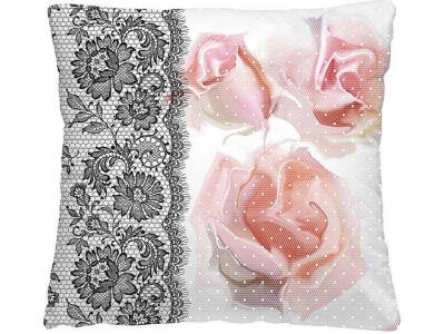 Подушка-думка 40/40 Ажурные розы