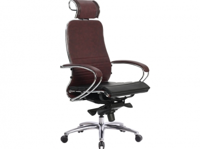 Компьютерное кресло Samurai K-2.03 темно-бордовый с ковриком СSm-25