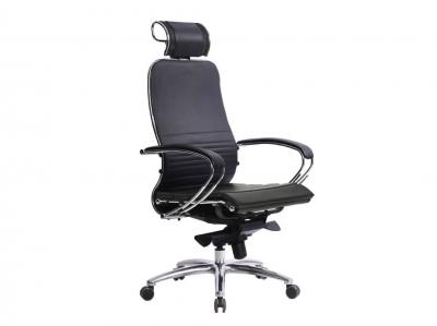 Компьютерное кресло Samurai K-2.03 черный-721 с ковриком СSm-25