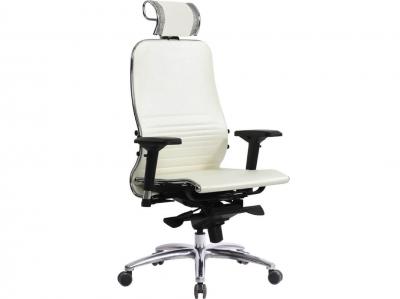 Компьютерное кресло Samurai K-3.03 белый лебедь