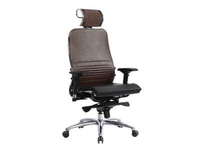 Компьютерное кресло Samurai K-3.03 темно-коричневый с ковриком СSm-25