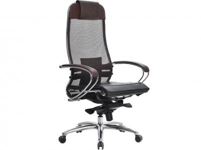 Компьютерное кресло Samurai S-1.03 темно-коричневый с ковриком СSm-25