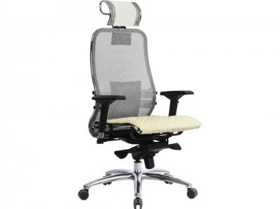 Компьютерное кресло Samurai S-3.03 белый лебедь с ковриком СSm-10