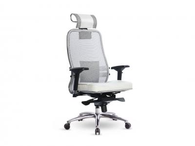 Компьютерное кресло Samurai SL-3.03 белый лебедь