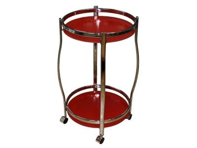 Столик сервировочный GC1129 красный