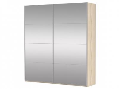 Шкаф-купе 2-х дверный Прайм Зеркало/Зеркало Сонома