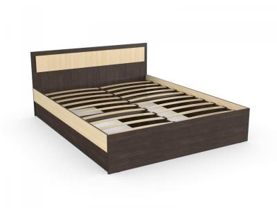 Кровать София 120 венге дуб с онованием