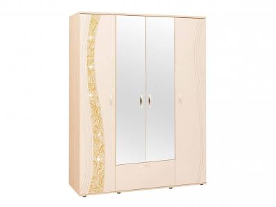 Шкаф четырехдверный с зеркалом 98.14 Соната 1700х580х2250