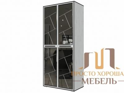 Шкаф универсальный Степ 1 с зеркалами