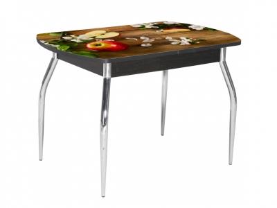 Стол обеденный Грация-2 1550 раздвижной дуб яблоки