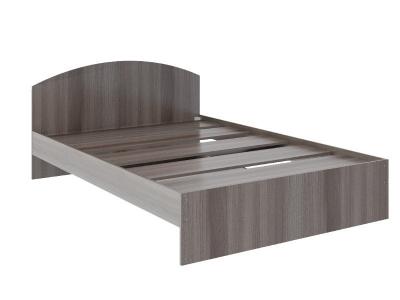 Кровать Веста 1.2 без ящика 2040x1220x700 ясень шимо темный