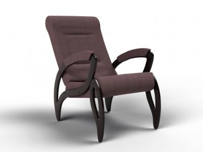Кресло Зельден кофе с молоком